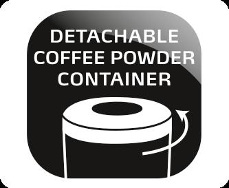 Αφαιρούμενο δοχείο καφέ